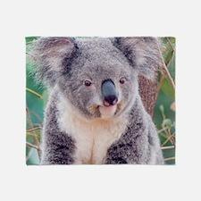 Koala Smile pillow Throw Blanket