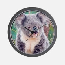Koala Smile pillow Wall Clock