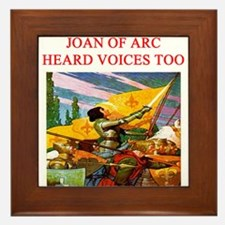 voices in my head joke gifts t-shirts Framed Tile