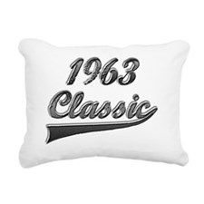 Classic 1963 Rectangular Canvas Pillow