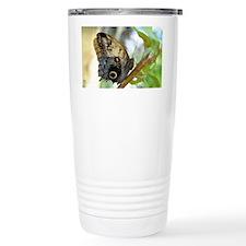 owl_butterfly_sticker Travel Mug