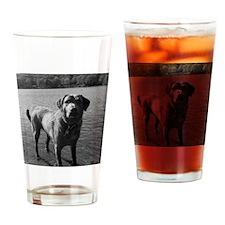 jacklucyBW Drinking Glass