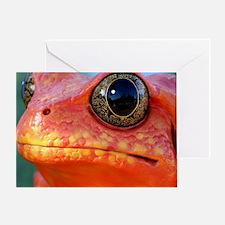 PDfrog mousepad Greeting Card
