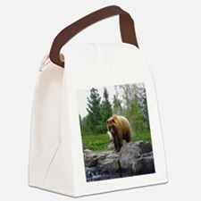 Grizzly Canvas Lunch Bag
