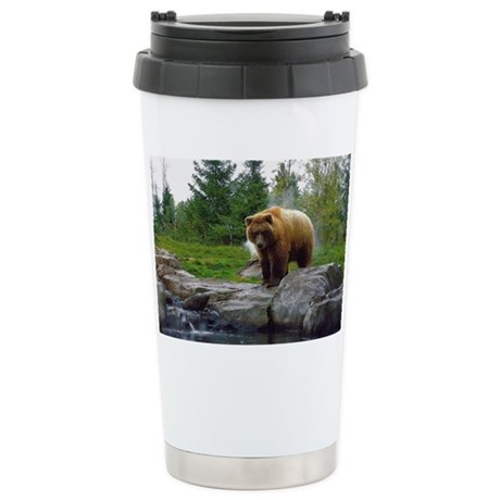 Grizzly Stainless Steel Travel Mug
