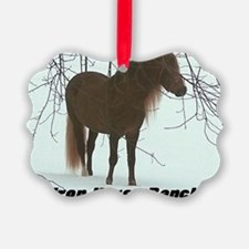 frostrees Iron Horse Ranch Ornament
