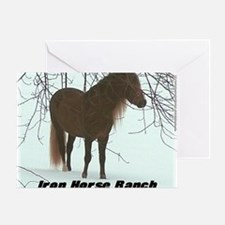 frostrees Iron Horse Ranch Greeting Card