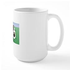 BorderCollieHerdingCard Mug