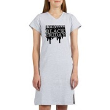 BLACK FRIDAY SURVIVAL   Women's Nightshirt