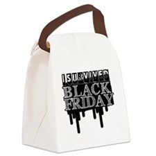 BLACK FRIDAY SURVIVAL   Canvas Lunch Bag