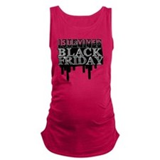 BLACK FRIDAY SURVIVAL   Maternity Tank Top