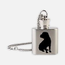 shar pei 2.eps Flask Necklace