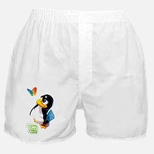 Tux Swat-Mint Boxer Shorts