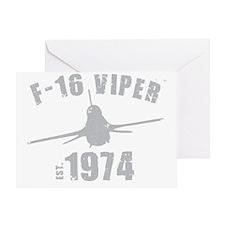 varsity-f16-74-gray Greeting Card