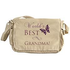Butterfly_Grandma Messenger Bag