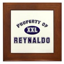 Property of reynaldo Framed Tile