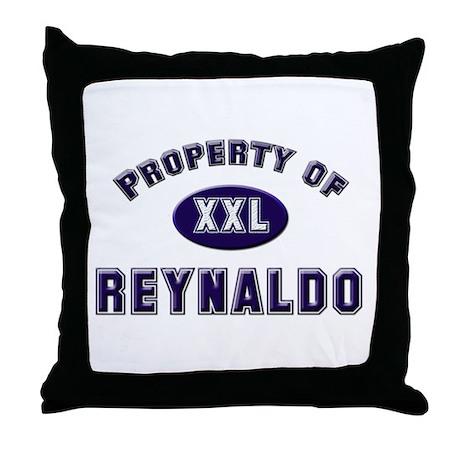 Property of reynaldo Throw Pillow