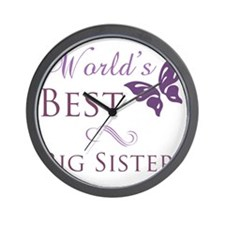 Butterfly_BigSister Wall Clock