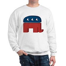 3D Elephant Sweatshirt