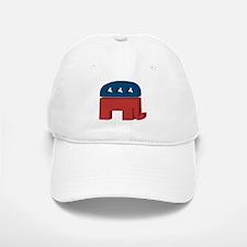3D Elephant Baseball Baseball Cap