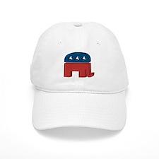 3D Elephant Baseball Cap