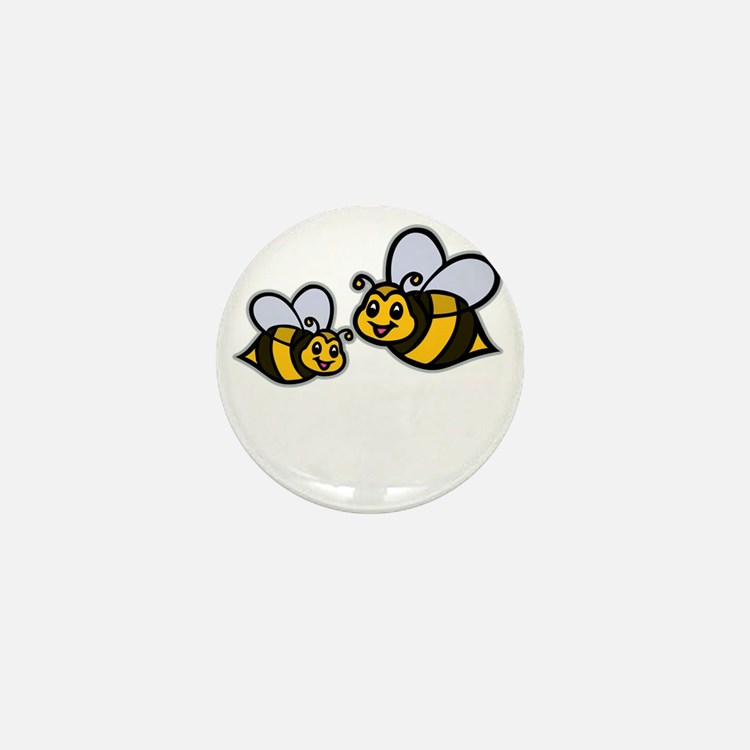 Big Bro Bee dk Mini Button