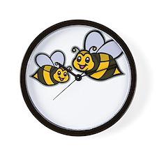 Big Bro Bee dk Wall Clock