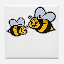 Big Bro Bee dk Tile Coaster