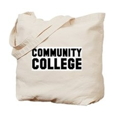 Community College Tote Bag