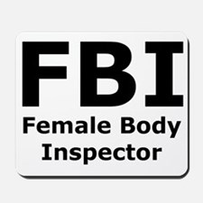 FBI Mousepad