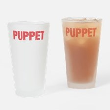 puppetmasterDrk Drinking Glass