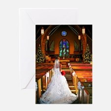 wedding_gown Greeting Card