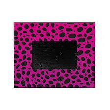 Pink Cheetah Print Picture Frame