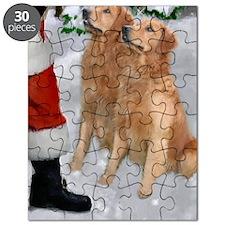 santabootsgolden card Puzzle
