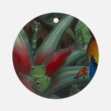 Cloud Forest Painting Section Round Ornament