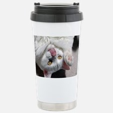 silly_cat_card Travel Mug