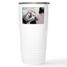 silly_cat_Lg_framed Travel Mug