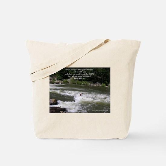 Isaiah 43:2 Tote Bag