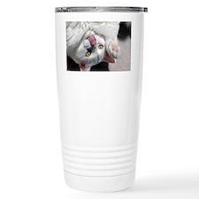 silly_cat_panel Travel Mug