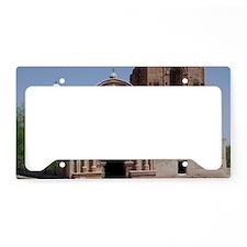 tumacacori_Lg_framed License Plate Holder