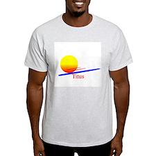 Titus Ash Grey T-Shirt