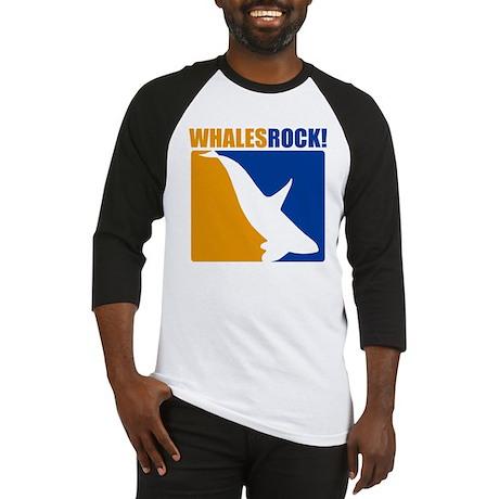Whales Rock! Baseball Jersey