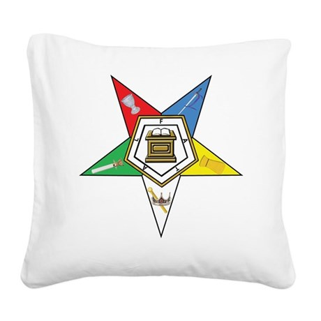oesTall iPHONE Square Canvas Pillow