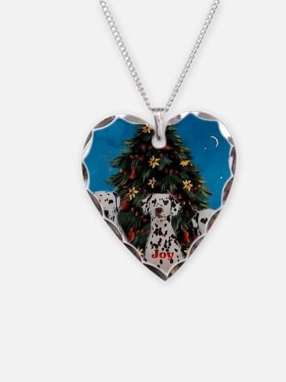 peacejoylovedalmatians Necklace Heart Charm