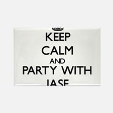 Keep Calm and Party with Jase Magnets