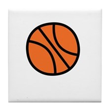 BBall Dad -dk Tile Coaster