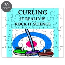 i love curling Puzzle