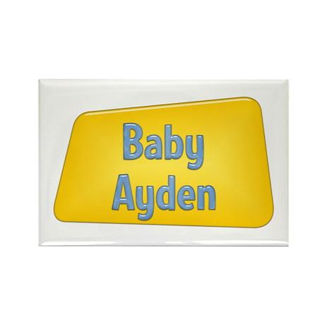 Baby Ayden Rectangle Magnet