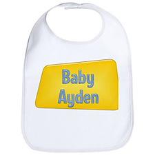 Baby Ayden Bib