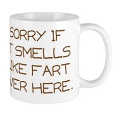 fart novelty Mug